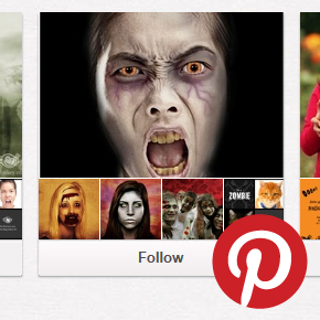 Screen grab of a PicMonkey Pinterest board