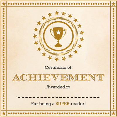 graphic showing an award certificate using School U overlays