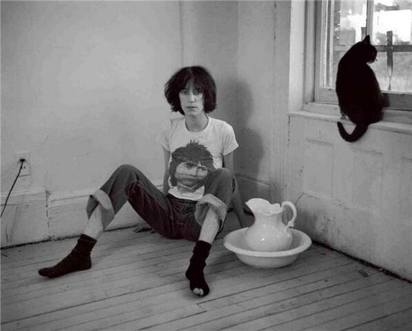 photo portrait of Patti Smith