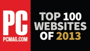 cover graphic showing PC Magazine logo