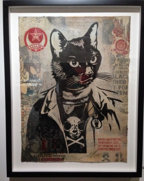 Photo of radical cat print