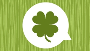 Shamrock graphic for St. Patrick's Day article